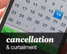 cancellation and curtailment
